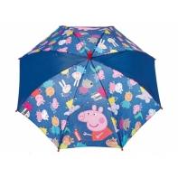 Dziecięca parasolka z motywem świnki Peppy - fioletowa