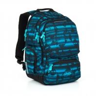 Dwukomorowy plecak młodzieżowy Topgal HIT 864