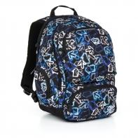 Dwukomorowy plecak młodzieżowy Topgal HIT 867