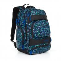 Trzykomorowy plecak młodzieżowy Topgal HIT 868