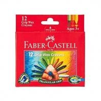 12 kredek woskowych trójkątnych Faber-Castell