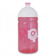 Różowa butelka, bidon Topgal