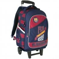 Plecak szkolny na kółkach z odpinanym stelażem FC BARCELONA Astra