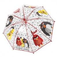 Dziecięca głęboka parasolka z motywem Angry Birds