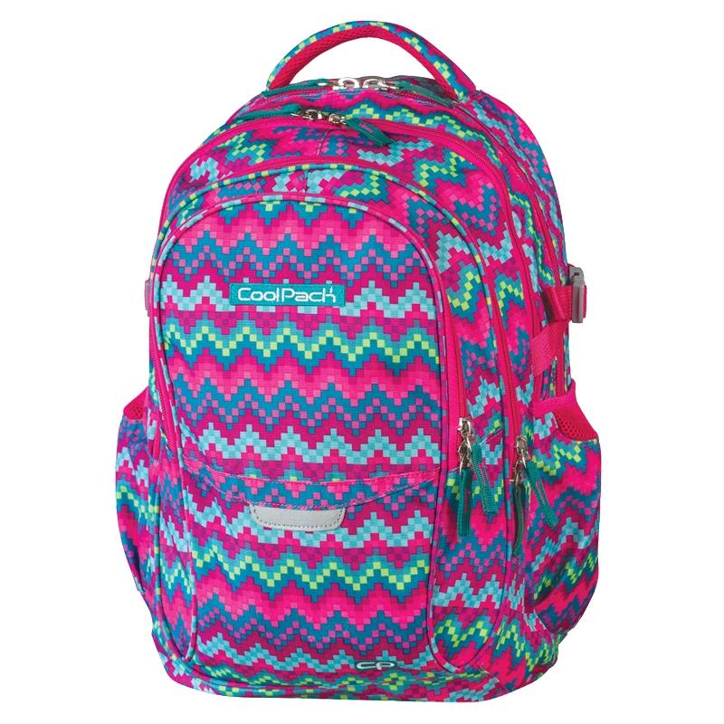d211c5cc6f618 Młodzieżowy plecak szkolny CoolPack Factor 29L Zigzag