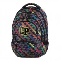 Młodzieżowy plecak szkolny CoolPack College 27L, Rainbow Stripes 658
