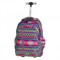 Plecak szkolny na kółkach CoolPack Junior 34 L BOHO ELECTRA 782