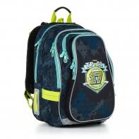 Plecak szkolny dwukomorowy dla chłopca Topgal CHI 878