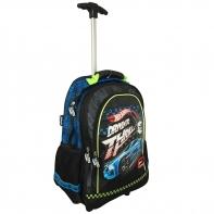 Plecak na kółkach dla chłopca Hot Wheels