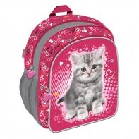 Plecaczek dziecięcy My Little Friend kotek, różowy