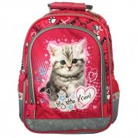 Plecak szkolny dla dziewczynki My Little Friend Kotek