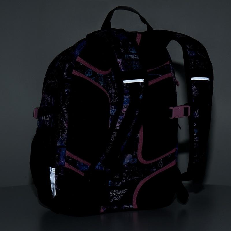 0d5d90217fb3e Dwukomorowy plecak młodzieżowy Topgal HIT 889