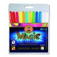 Magiczne flamastry 10+2 KOH-I-NOOR