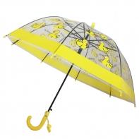 Dziecięca głęboka parasolka z gwizdkiem, kaczuszki