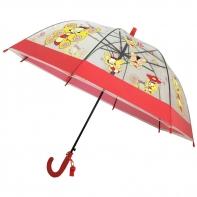 Dziecięca głęboka parasolka z gwizdkiem, motylki
