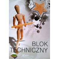 Blok techniczny biały 10 kartek A3