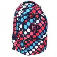 Młodzieżowy plecak szkolny CoolPack College 27L, Dots 030