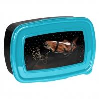 Śniadaniówka szkolna z głową konia, Paso