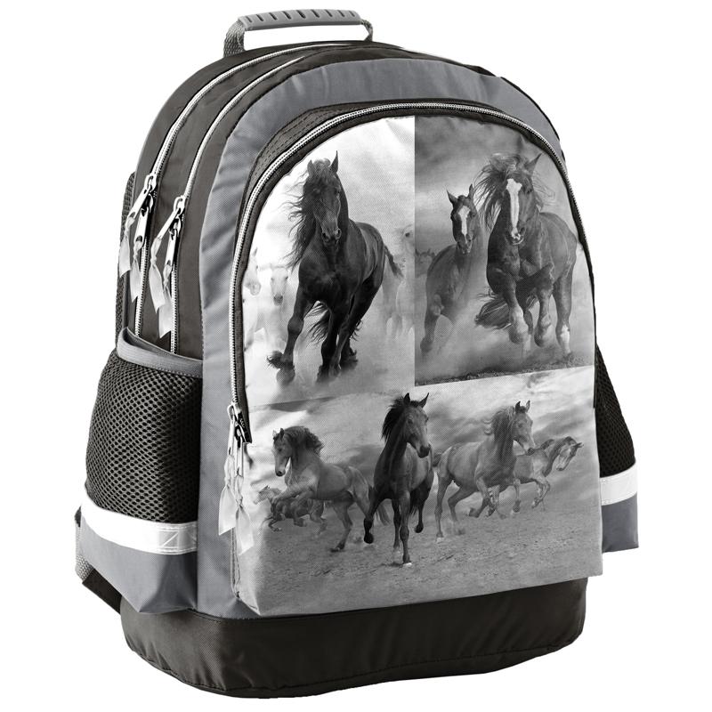 44a4048a40f4a Lekki plecak szkolny z koniem