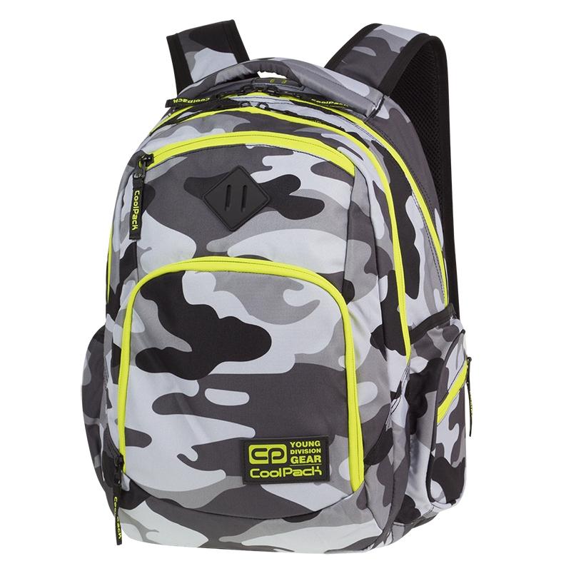 e5114b77235e3 Młodzieżowy plecak szkolny CoolPack Break 29 l, Como Yellow Neon A365