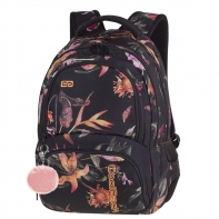 Młodzieżowy plecak szkolny CoolPack Spiner 27L, Lilies A021
