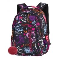 Młodzieżowy plecak szkolny CoolPack Strike 26L, Emotions A254