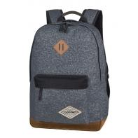 Bardzo lekki dwukomorowy plecak CoolPack Scout 26 L, Shabby Grey A120