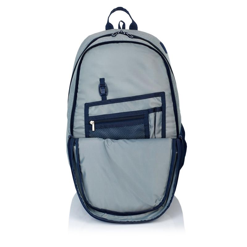 ba5cc173e8cea Plecak szkolny Astra Head HD-65, szaro - granatowy