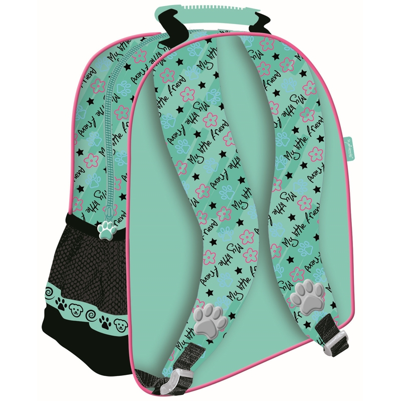 adfd0808a47f Plecak szkolny dla dziewczynki My Little Friend piesek w okularach