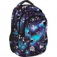 Dwukomorowy plecak szkolny St.Right 19 L, Cosmos