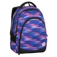 Superlekki plecak szkolny Bagmaster niebiesko różowy