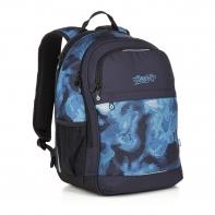 Dwukomorowy plecak młodzieżowy Topgal RUBI 18035