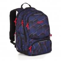 Dwukomorowy plecak młodzieżowy Topgal ROTH 18037