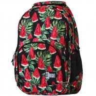 Dwukomorowy plecak szkolny St.Right 24 L, Watermelon