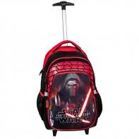 Plecak szkolny na kółkach Star Wars, Paso
