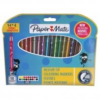 18 flamastrów Paper Mate Crealo