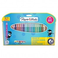 24 flamastry Paper Mate Crealo
