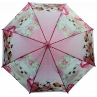 Automatyczna duża parasolka dziecięca z gwizdkiem, pieski