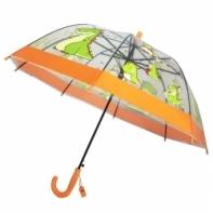 Dziecięca głęboka parasolka z gwizdkiem, dinozaur