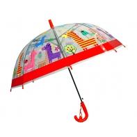 Dziecięca głęboka parasolka z gwizdkiem, lamy