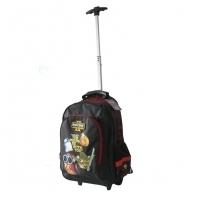 Plecak na kółkach dla chłopca Angry Birds