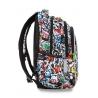 Swiecący plecak szkolny CoolPack LED Joy M 23 L Graffiti A20201 + ładowarka