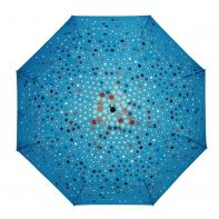 Automatyczna parasolka damska Stork, kolorowe kółeczka
