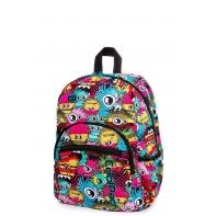 Dziecięcy mały plecak CoolPack Mini 18L, Wiggly Eyes Pink, B27047