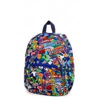 Dziecięcy mały plecak CoolPack Mini 18L, Football Cartoon, B27036