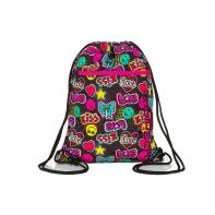Worek na obuwie Coolpack Shoe Bag, Vert Emoticons, A70205