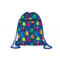 Worek na obuwie Coolpack Shoe Bag, Vert Funny Monsters, A70206