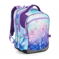 Plecak szkolny trzykomorowy dla dziewczynki Topgal COCO 18044