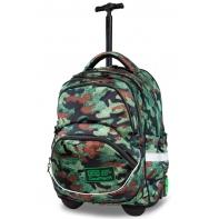 Plecak szkolny na kółkach CoolPack Starr 27 L, Como Fusion Green B35095