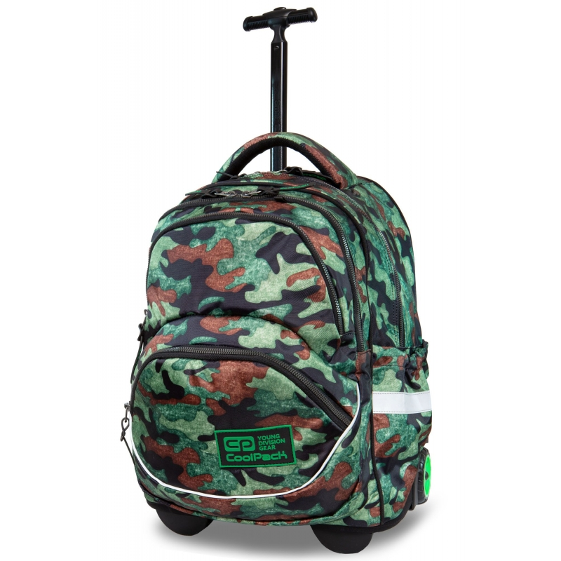 25515b789d8b3 Plecak szkolny na kółkach CoolPack Starr 27 L, Como Fusion Green B35095